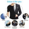 Mens Body Shaper Vest. Excellent Slimming and Compression functionality. - Fibermerix - Chic