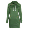Women Winter Fashion Hoodies Sweatshirt Long Sleeve Zipper Sweatshirts. - Fibermerix - Chic
