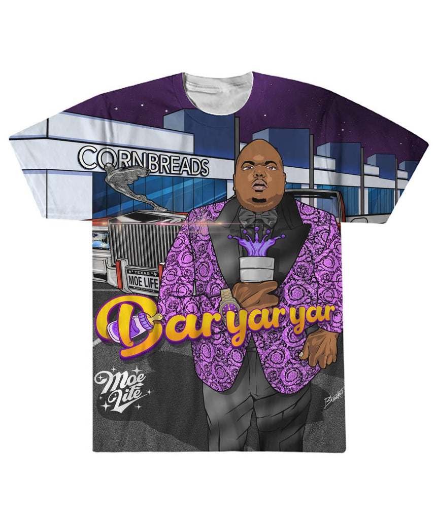 Big Moe Cornbreads Sublimation Tee Shirt [Limited Edition]