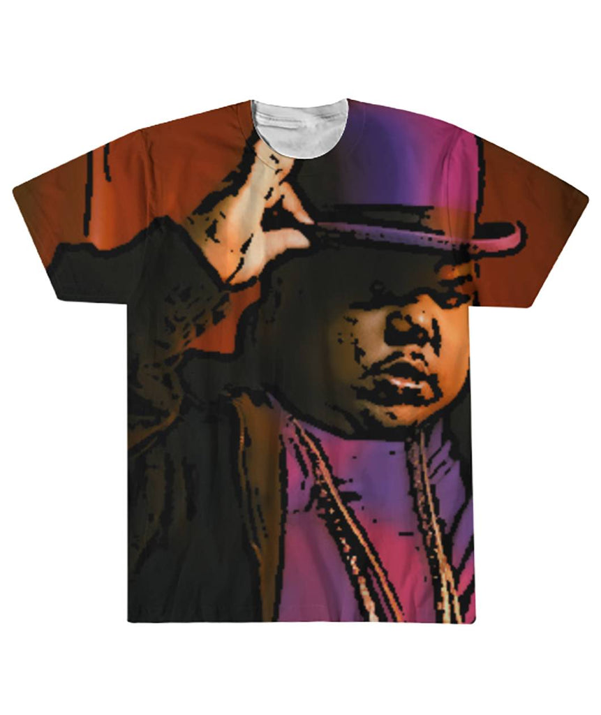 Big Moe With Hat Cartoon Sublimation Tee Sublimation Tee