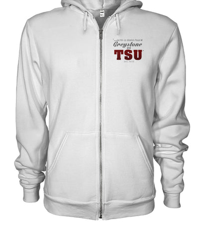 Big Moe TSU Zip Up Hoodie