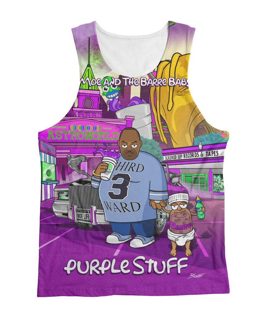 Big Moe & The Barre Baby Sublimation Tank [Limited Edition]