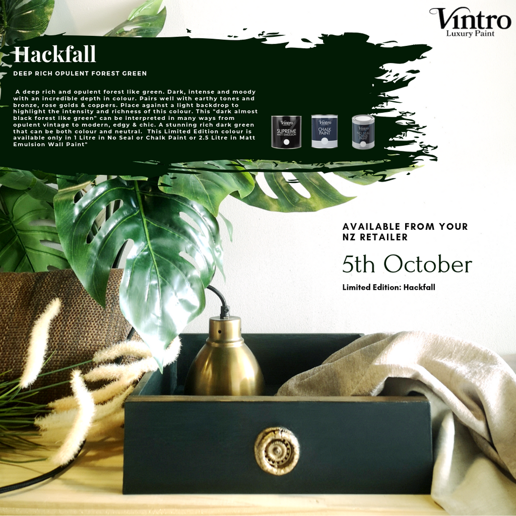 Limited Edition Chalk Paint Colours from Vintro Paint NZ