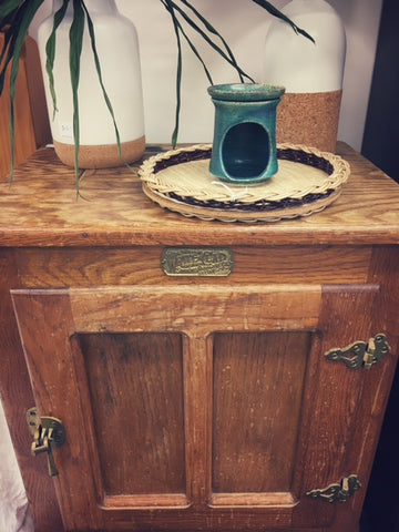 This bedside table needs a little bit of TLC and then it would be a great (and quirky) bedroom addition