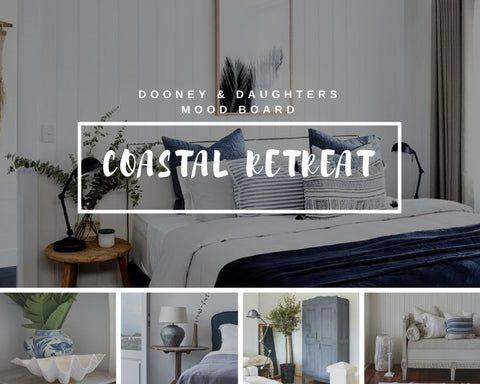 Coastal Retreat Mood Board