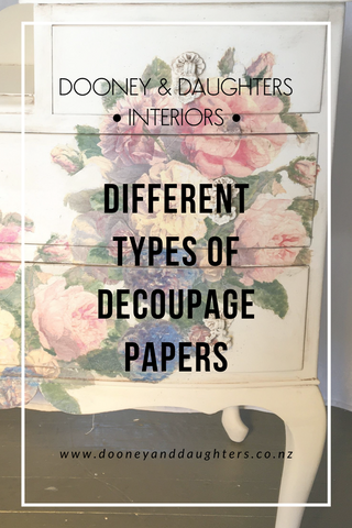 Different Types of Decoupage Papers