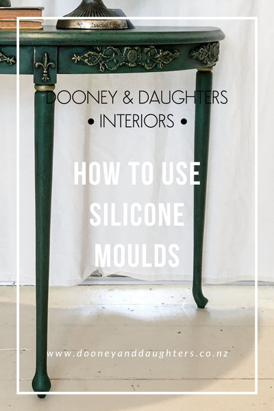 How to use silicone mouldings