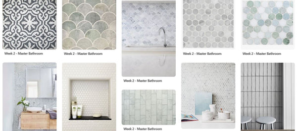 Dooney & Daughters Pinterest Mood Board - Tiles