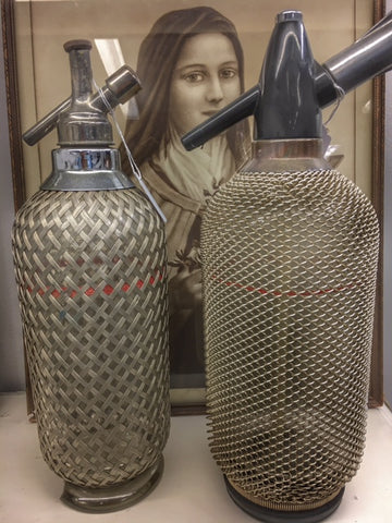 These old soda bottles are amazing, and heavy! Much more of a design statement than having a regular sodastream