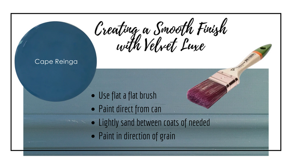 Smooth Finish With Velvet Luxe