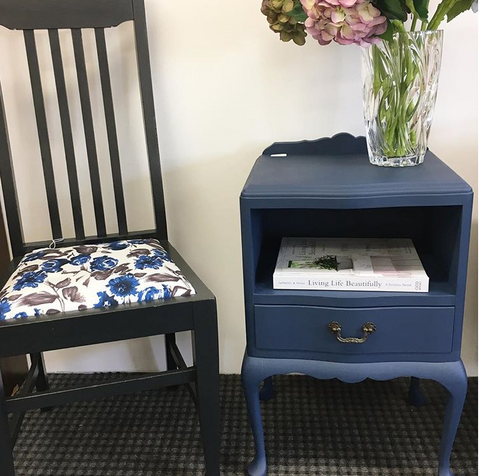Dooney & Daughters - Upcycled Chair & Bedside Table