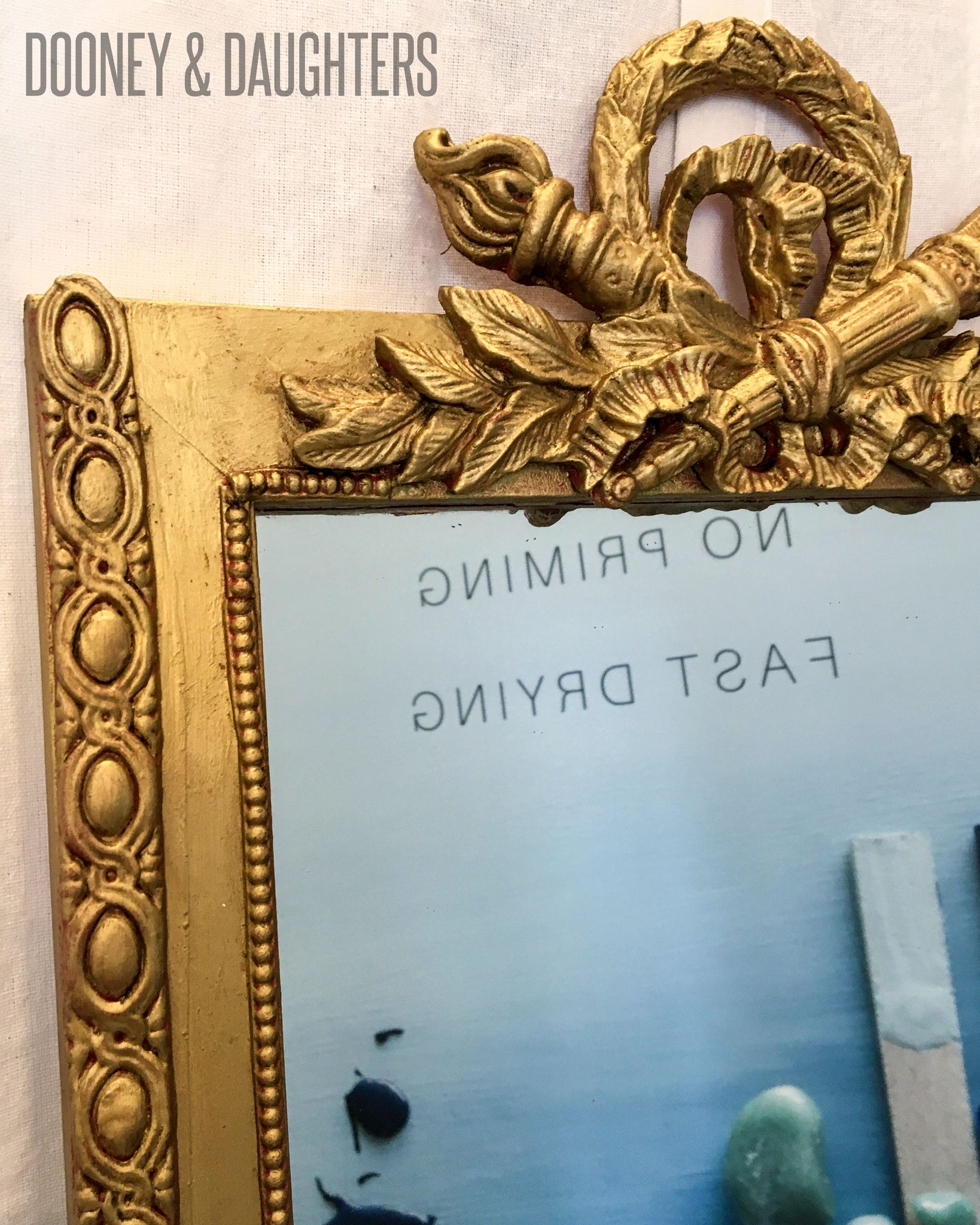 Aged Gold Mirror with Efex Mouldings