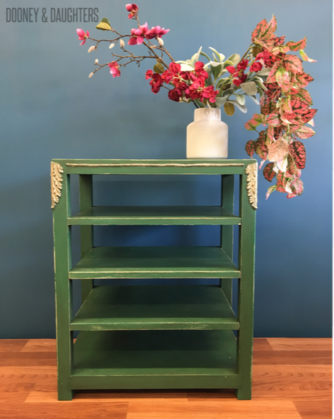 Aged shelves with Brooklands Chalk Paint
