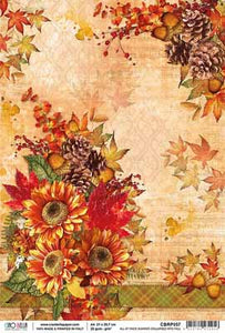 A4 Rice Paper - All At Once Summer Collapsed Into Fall