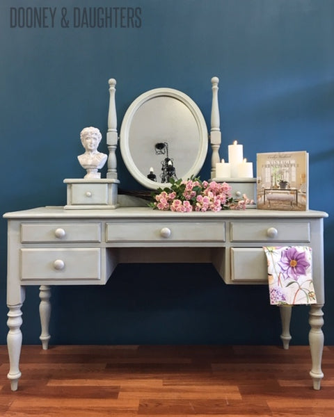 Aurora and Dove Dresser with Mirror