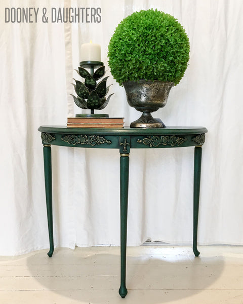 Brooklands Demi-Lune Occasional Table