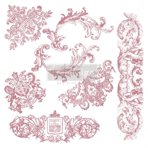 Decor Stamp - Chateau de Maisons