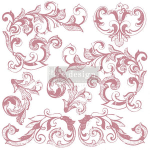 Decor Stamp - Elegant Scrolls