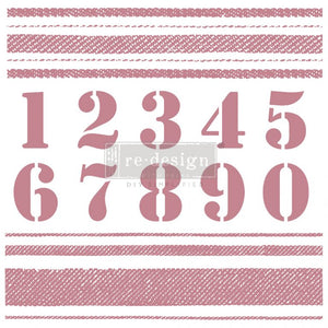 Decor Stamp - Stripes