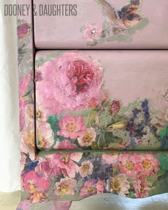 Faded Floral Bedside