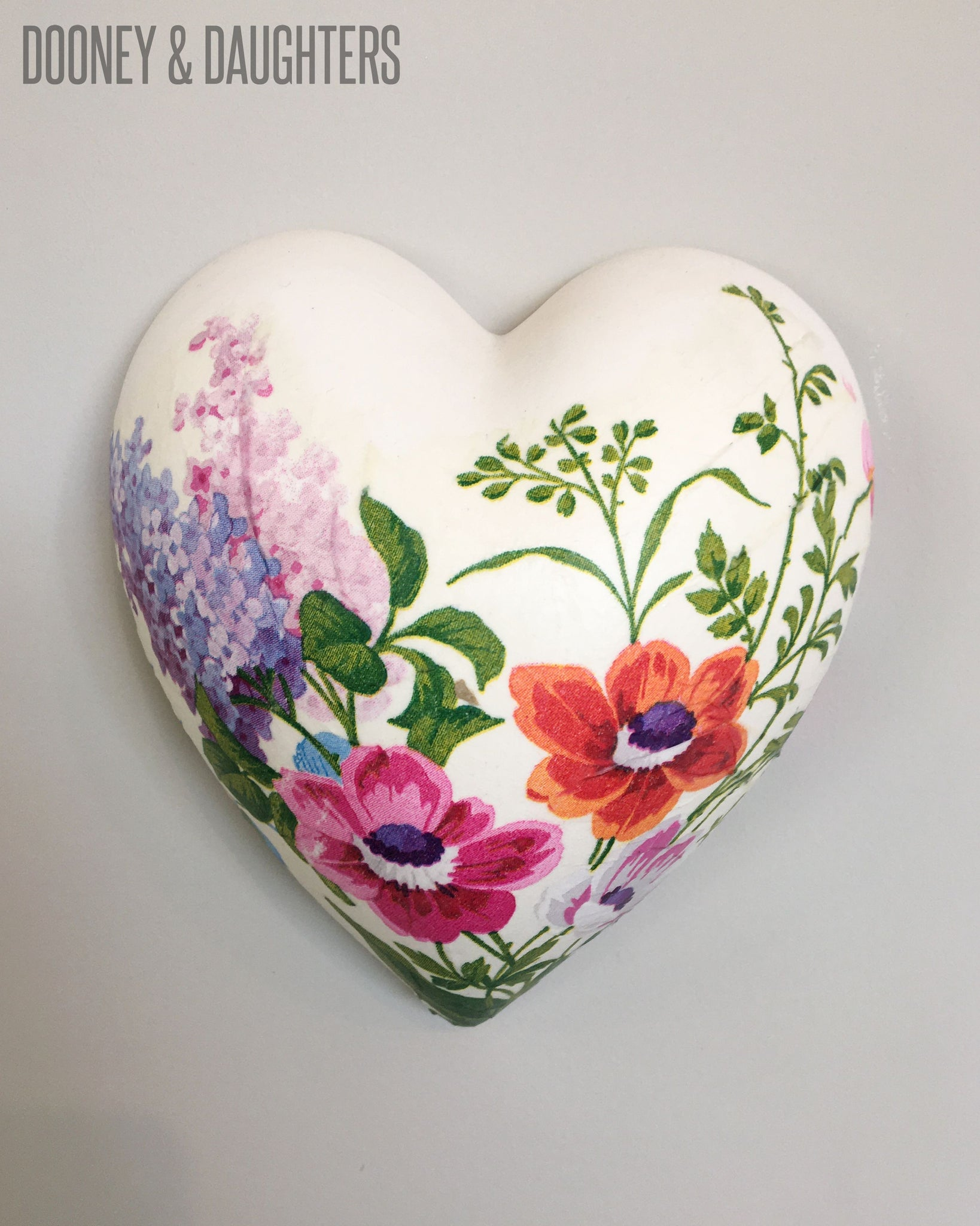 Spring Floral Heart