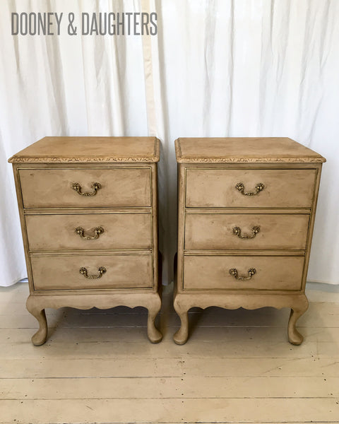 French Rustic Bedsides