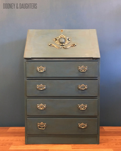 French Navy Writing Desk