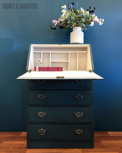French Navy Writing Desk - SOLD