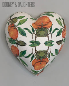 Beautiful Oranges Heart