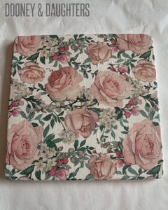 Blush Rose Tile Medium