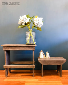 Industrial Grey Stools