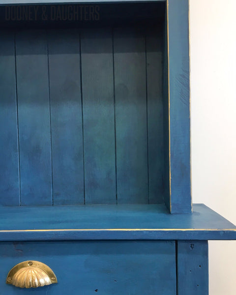 Moody Blues Hutch Dresser