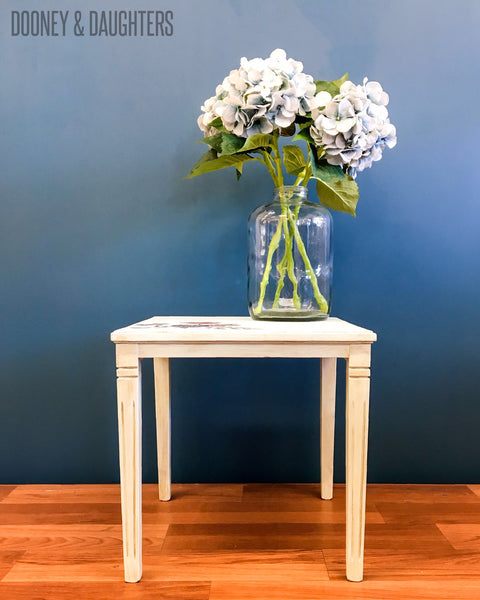 Moonstone side table