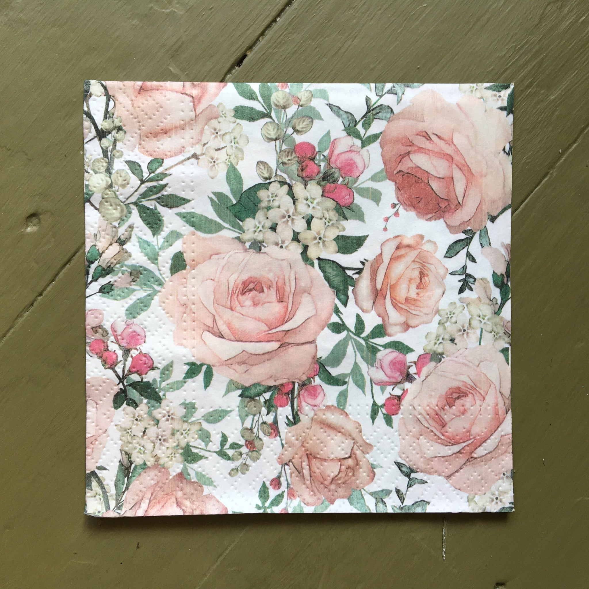 Napkin - Blush Rose