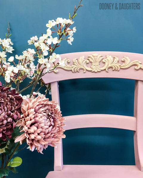 Pretty in pink chair