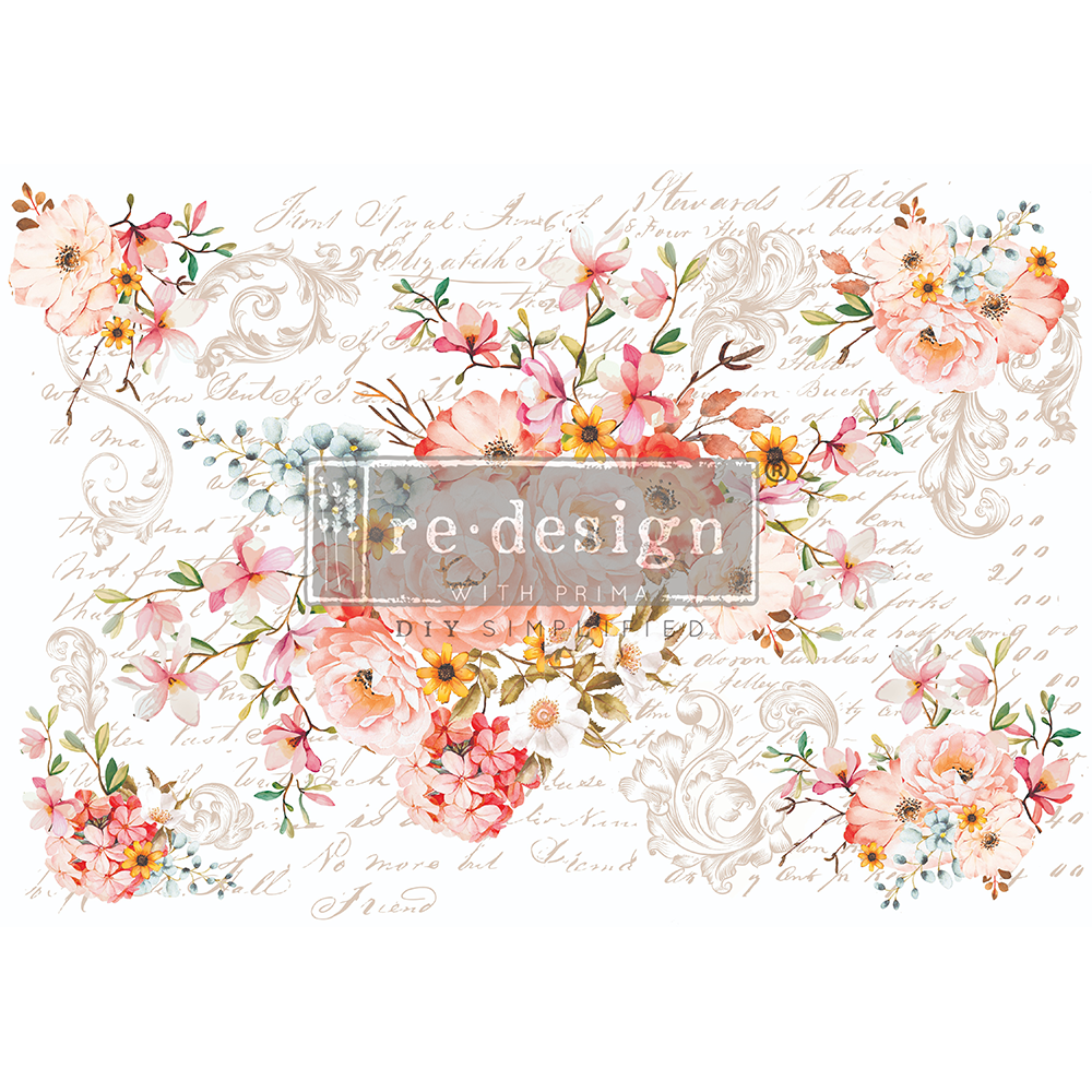 Rose Celebration transfer by ReDesign with Prima