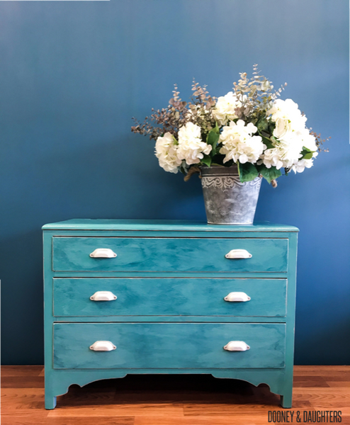 Sea Green Upcycled Drawers