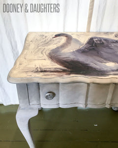 White Swan Hall Table