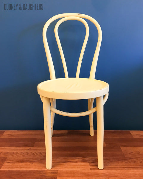 Upcycled Pastel Bentwood Chairs