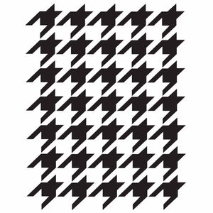 Belles and Whistles - Houndstooth Stencil