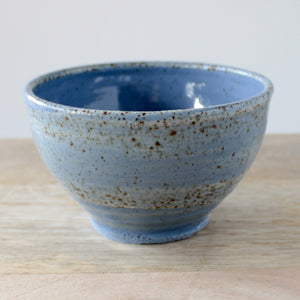 Laughing Pottery Blue Bowl