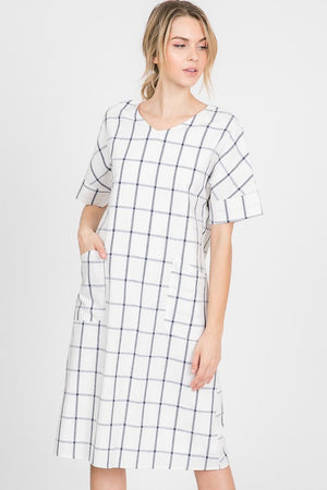 Cool Check Dress