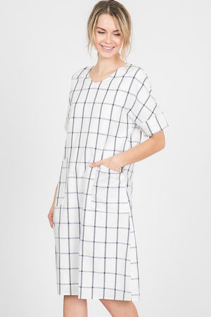 A Cool Check Dress