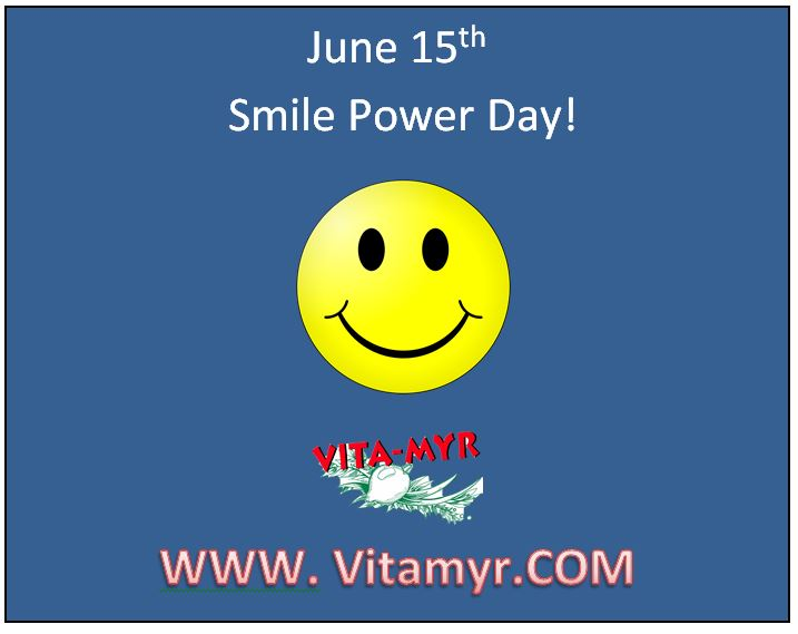 Monday, June 15, 2020 Smile Power Day!