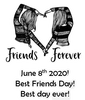 June 8th! Best Friends Day!