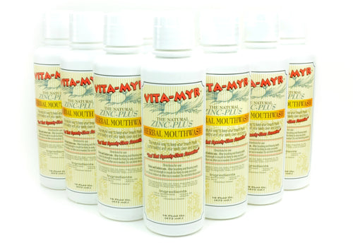 Vitamyr Family Package # 11 - 12 Pack of 16 Ounce Vitamyr Natural Mouthwash!