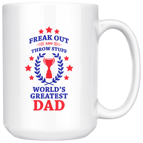 Fuego World's Greatest Dad Phish Coffee Mug by Custeez