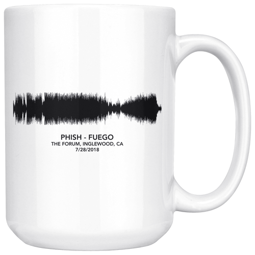 Fuego Soundwave Phish Mug by Custeez