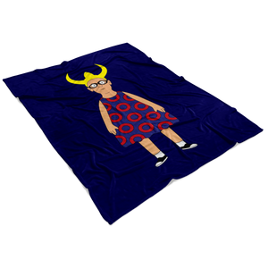 Bob's Burgers Louise Fish Fleece Blanket