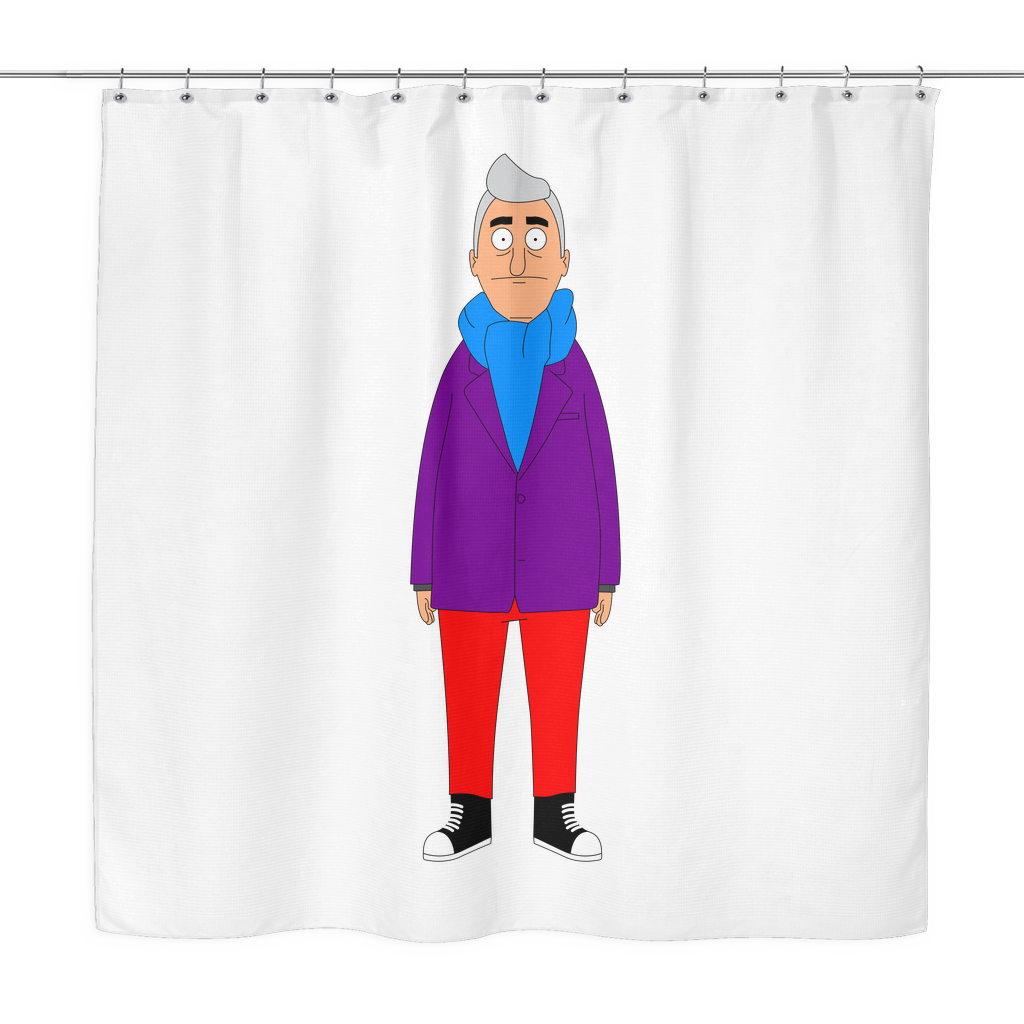 Bob's Burgers Fischoeder Mike Shower Curtain